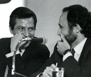 MAIG 1988 - PPCC - CDS - ANTONI FERNANDEZ TEIXIDO, ADOLFO SUAREZ - MIQUEL ANGLARILL AVUI¶P22/9/1991
